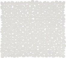 MSV 140891Galets Duscheinlage PVC weiß 53x
