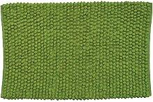 MSV 141382 Badematte aus Baumwolle, grün