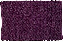 MSV 141384 Badematte aus Baumwolle, viole