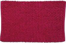 MSV 141385 Badematte aus Baumwolle, Fuchsia