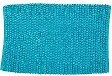 MSV 141386 Badematte aus Baumwolle, blau