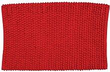 MSV 141387 Badematte aus Baumwolle, Ro