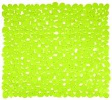 "MSV 2108286 Duschmatte ""Kieselsteine"" grün"