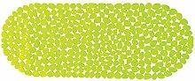 MSV 2108474Teppich Pebbles, Badewanne grün