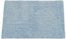 MSV Badeteppich aus Baumwolle 45x70cm in hellblau