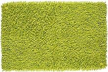 MSV Badmatte Chenille 50x80cm aus Baumwolle in