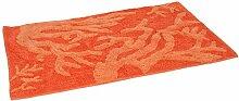 MSV Teppich Koralle aus Baumwolle 50x80cm,