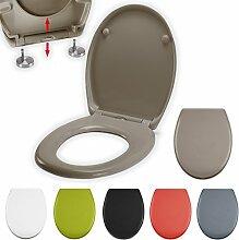MSV WC Sitz Toilettendeckel Duroplast mit