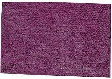 MSV WC-Waschbeckenmatte 45x70cm in violett Plastik