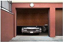 MSW Sectional Door GD3000 black walnut (3.000 x