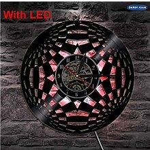 mswdm Wanduhr Lautlos Wanduhr Cirkel 3D