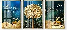 MTCWD Gemälde for Wohnkultur Wand 3 Panel