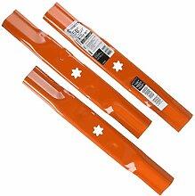 MTD/Arnold 490-110-M182 Messer-Set, Schwarz