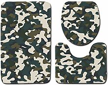 MTDTM Wc-Matte Badewanne Rags Camouflage