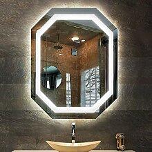 MTFZD 60 x 80cm Spiegel Badezimmer Beleuchtung
