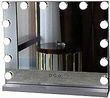 MTFZD Büro Make-up-Spiegel-LED-Platz Beleuchtung