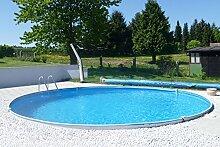 MTH Schwimmbecken, rund, 5,00m x 1,20m 0,6mm