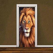 MTHZNN 3D-Tür-Aufkleber für den Innenbereich,