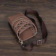 Muate Leder Frisur Schere Werkzeuge Clips Tasche