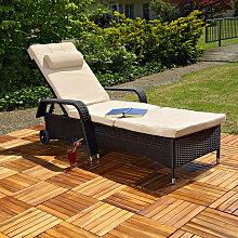 Mucola - Gartenliege Sonnenliege Liege Relaxliege