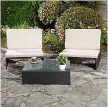 Mucola Gartenmöbelset Lounge Sitzgarnitur