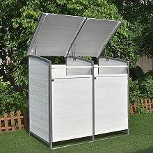 Mucola - Mülltonnenbox Doppelbox