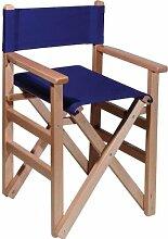 Mueblear 1001Regie-Stuhl, mit Leinwand und