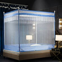 Mückennetz Bett, Betthimmel Vorhang Pop-up Falten