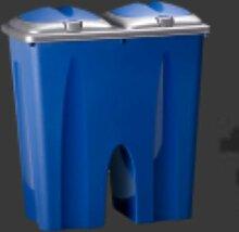 Müllbehälter DUO BIN 2 x 25 ltr, Abfalleimer,