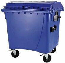 Müllcontainer | Volumen 1100 Liter | Blau