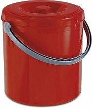 Mülleimer 10 Liter mit Henkel und