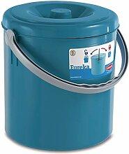 Mülleimer 25 Liter mit Henkel und