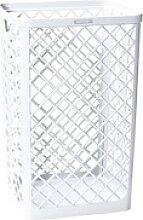 Mülleimer 40 L weiß, Katrin, 32x50x25 cm