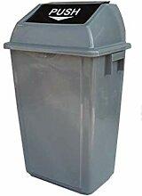 Mülleimer 40L 60L quadratischer Mülleimer