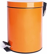 Mülleimer 5 L orange