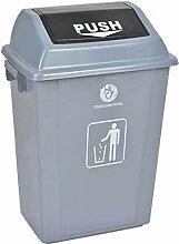 Mülleimer aus Kunststoff 42L 60L im Freien mit