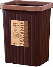 Mülleimer Badezimmer, CT-Tribe Abfallbehälter Papierkörbe Büro Badezimmer ohne Deckel