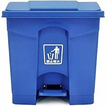 Mülleimer Blue Trash Can, Pedal Typ Outdoor