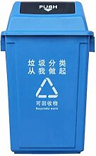 Mülleimer im Freien Mülleimer (Farbe : Blau,