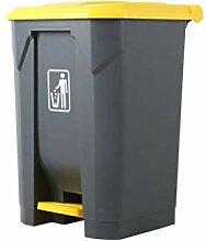 Mülleimer Kommerzieller Outdoor-Pedaltyp mit