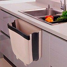 Mülleimer Küche Faltbarer Abfalleimer Für