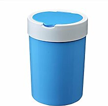 Mülleimer Küche Wohnzimmer Müllbehälter Badezimmer Haushalt Lagerfässer Kunststoff große Müllspezifikationen 23 * 32cm , blue