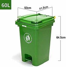 Mülleimer Kunststoff Mit Einer Klappe  