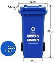 Mülleimer Kunststoff Mit Einer Klappe   Verdicken