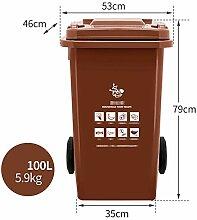 Mülleimer Kunststoff Mit Einer Klappe | Verdicken