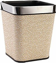 Mülleimer Leder Mülleimer Kreative Hause Küche Mülleimer Büro Papierkorb , A , S
