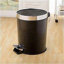 Mülleimer Mit Deckel Fuß Küche Papierkorb
