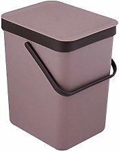 Mülleimer Mit einfarbigem Mülleimer Tragbare