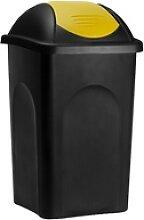 Mülleimer mit Schwingdeckel Kunststoff
