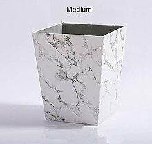 Mülleimer Papierkörbe Europäischen Stil Marmor